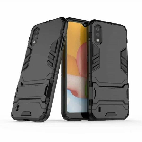 Чехол противоударный Transformer для Samsung Galaxy A01 2020 / A015F (разные цвета)