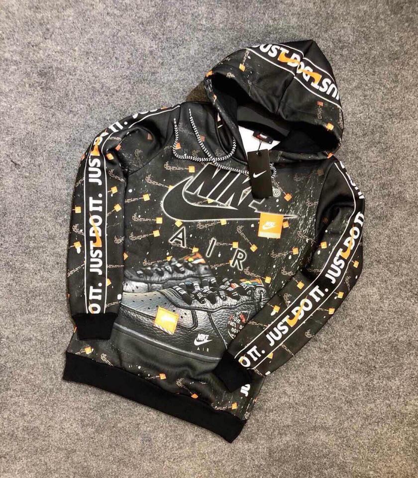 Мужская кофта Худи Nike, Black