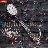 Массажная щетка на длинной ручке из синтетических материалов TITANIA арт.9115, фото 3