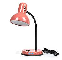 Настільна лампа патрон Е27 LOGA колір абрикос