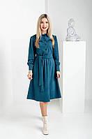 Замшевое платье рубашечного кроя, фото 1