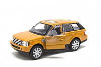 Железная машинка KT5312 Range Rover Sport (Оранжевый)