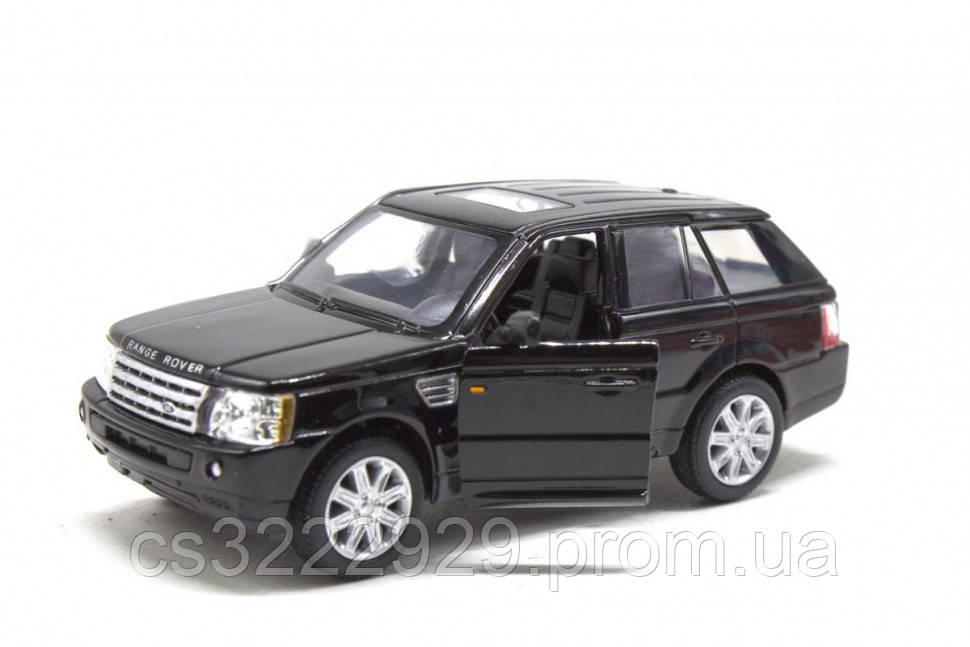Железная машинка KT5312 Range Rover Sport (Черный)
