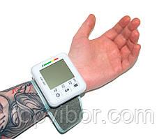 Автоматический тонометр на запястье Wrist Style, прибор для измерения давления на руку с доставкой