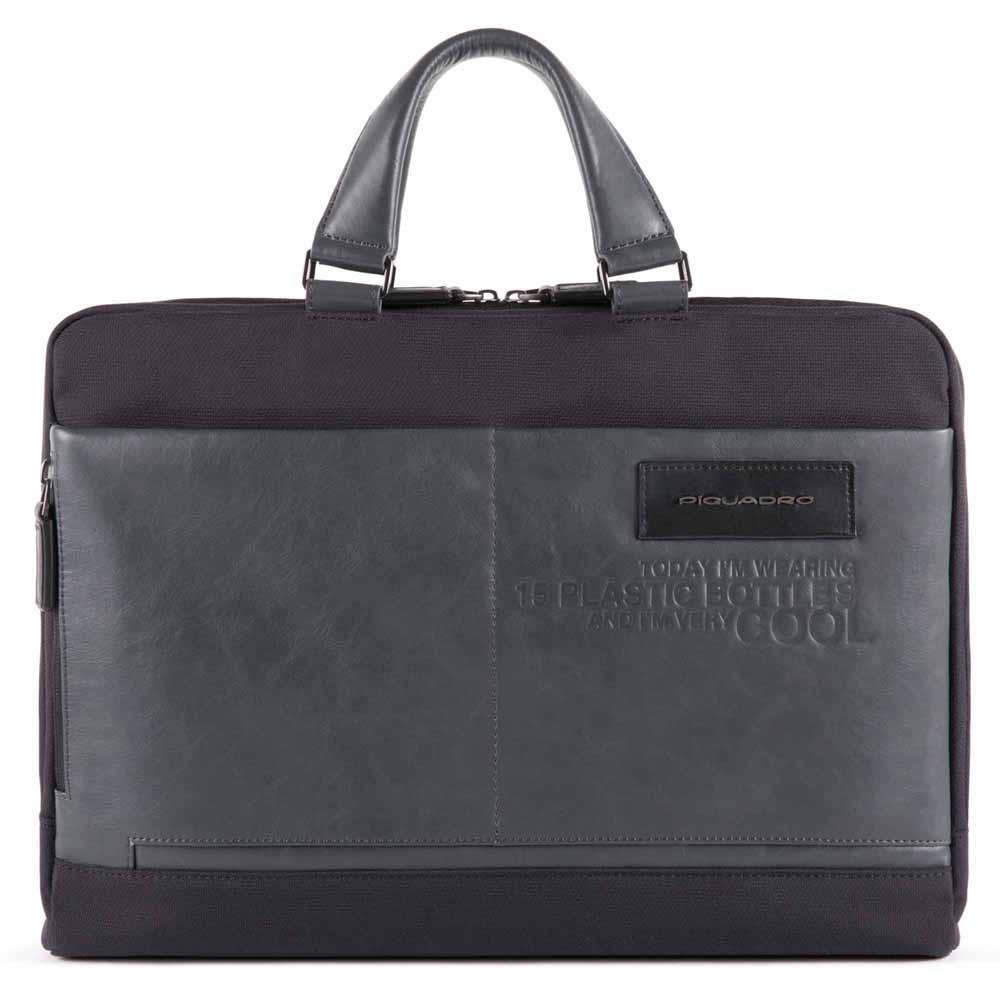 Кожаный портфель Piquadro Ade, черный