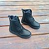 Високі Утеплені чорні Кросівки Alexander Mcqueen демисезон демі еко шкіряні, фото 3