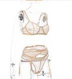 Комплект білизни жіночий бежевий S-L, фото 5