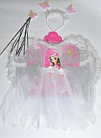 Карнавальный БЕЛЫЙ набор для девочки Ангел, фото 1