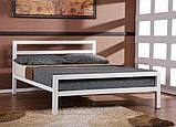 Кровать GoodsMetall из металла в стиле ЛОФТ К1, фото 2