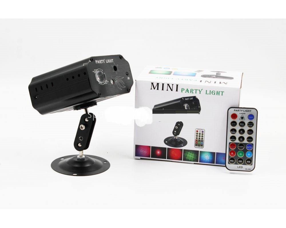Диско лазер LASER LIGHT EMS 083 для помещения + remote