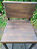 Барный стул GoodsMetall из металла в стиле ЛОФТ 750х350х350 БС7, фото 4