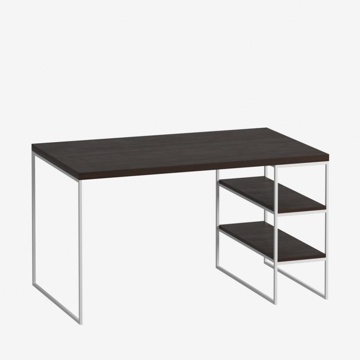 Письменный стол GoodsMetall с полочками 1200х600х750 ПС71
