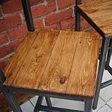 Барный стул GoodsMetall в стиле ЛОФТ БС4, фото 4