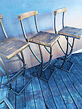 "Барный стул GoodsMetall в стиле ЛОФТ 750х350х350 ""Люксембург"", фото 6"