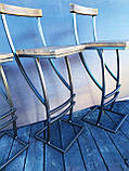 "Барный стул GoodsMetall в стиле ЛОФТ 750х350х350 ""Люксембург"", фото 7"