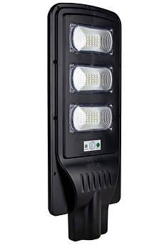 Уличный LED светильник FOYU 90 Вт фонарь на солнечной батарее с датчиком движения и пультом ДУ