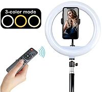 Подсветка и вспышка светодиодная для селфи, круглая лампа Led, Selfie кольцо для фото, набор блогера YQ320 А