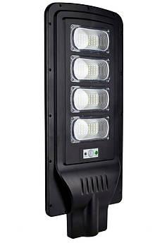 Уличный LED светильник FOYU 120 Вт фонарь на солнечной батарее с датчиком движения и пультом ДУ