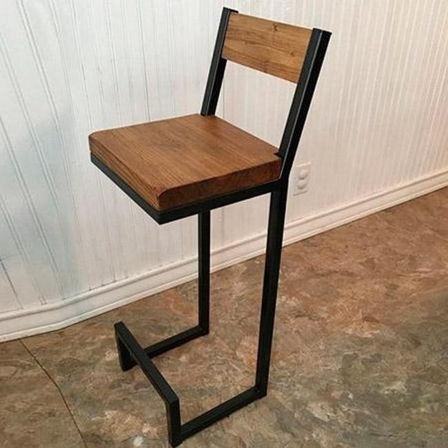 Барный стул GoodsMetall в стиле ЛОФТ БС212