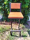 Барный стул GoodsMetall в стиле ЛОФТ БС212, фото 3