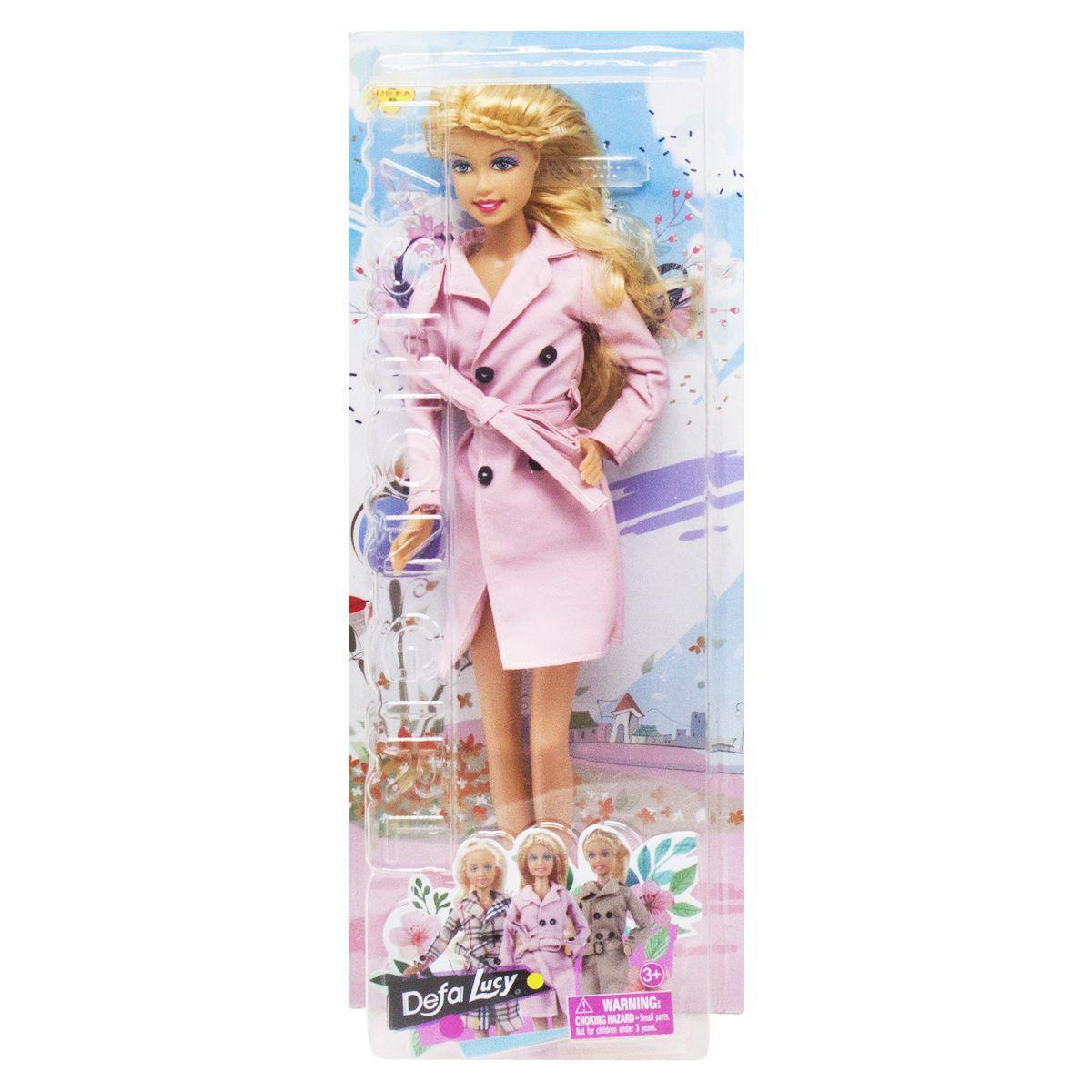 Кукла  Defa  Hello Spring  розовый