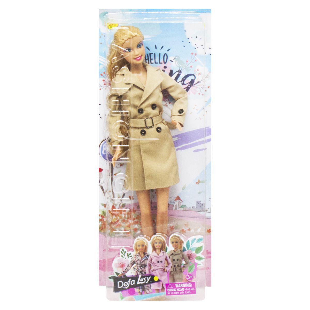 Кукла  Defa  Hello Spring бежевый
