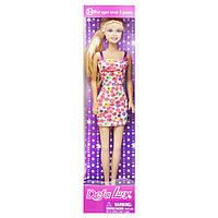 Кукла  Defa Lucy цветочный принтом