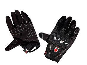 Перчатки SCOYCO HD-12 (size:M, черные, текстиль, карбон), фото 2