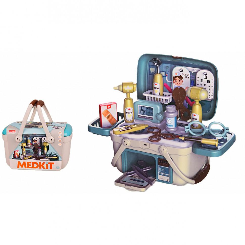 Игровой набор Доктора Медицинский чемодан 13M08