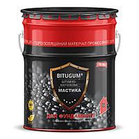 Мастика Izofast Bitugum (Изофаст Битугум) битумно-каучуковая 18 кг