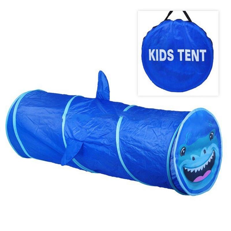 Труба-тоннель для детской палатки HF038 Акула