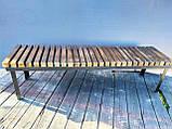 Скамья GoodsMetall в стиле ЛОФТ 1600х450х400 - ЛС62, фото 3