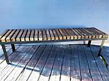 Скамья GoodsMetall в стиле ЛОФТ 1600х450х400 - ЛС62, фото 6