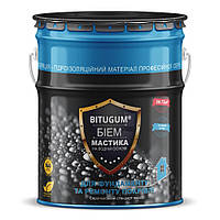 Мастика Izofast Bitugum (Изофаст Битугум) БиЭМ битумно-эмульсионная 18 кг