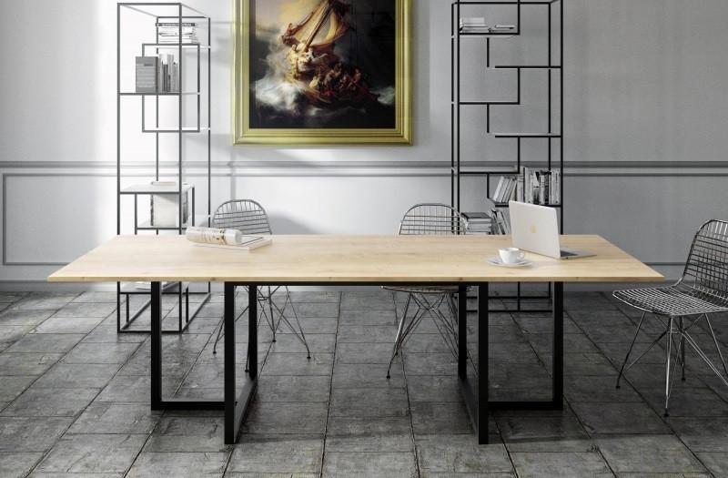 Стол обеденный GoodsMetall в стиле Лофт 1800х800х750 СТО83