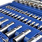 Набір інструментів ключів PIECE TOOL SET 108 штук, фото 3