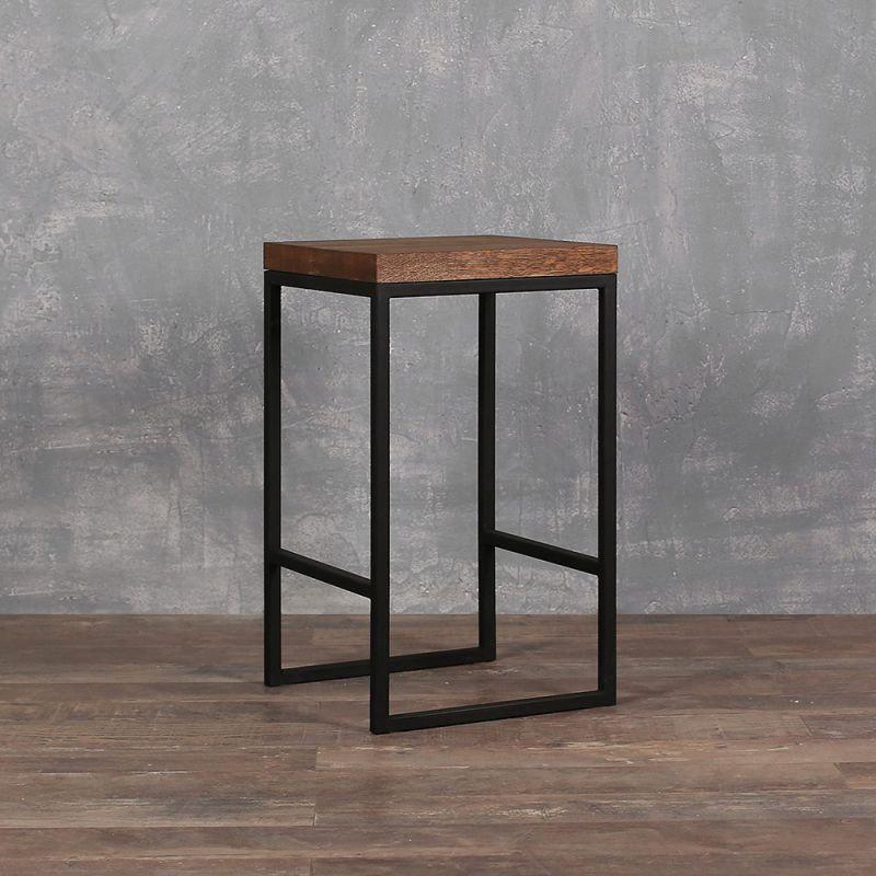 """Барный стул GoodsMetall в стиле ЛОФТ 750х350х350 """"Фрэнк"""""""