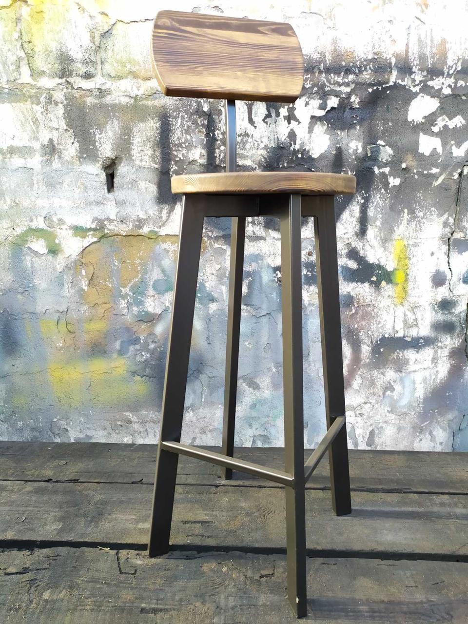 Барный стул GoodsMetall в стиле ЛОФТ 750х300х300 мм Дублин 2