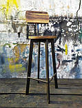 Барный стул GoodsMetall в стиле ЛОФТ 750х300х300 мм Дублин 2, фото 4