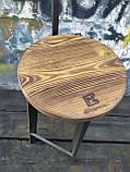 Барный стул GoodsMetall в стиле ЛОФТ 750х300х300 мм Дублин 2, фото 8