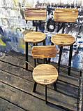 Барный стул GoodsMetall в стиле ЛОФТ 750х300х300 мм Дублин 2, фото 9