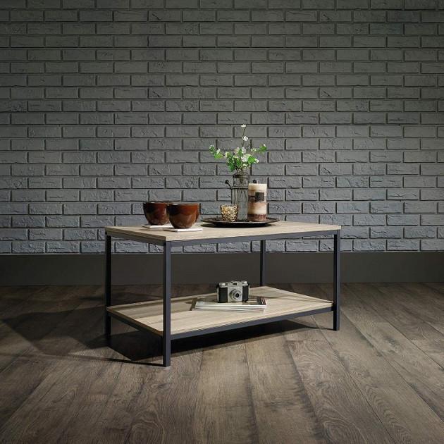 Журнальный, кофейный столик GoodsMetall в стиле Лофт 800х450х450 Ронни