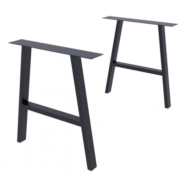 Опора для стола GoodsMetall в стиле Лофт 720х650мм Андеграунд
