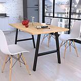 Опора для стола GoodsMetall в стиле Лофт 720х650мм Андеграунд, фото 2