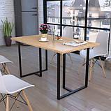Опора для стола GoodsMetall в стиле Лофт 730х650мм Инди, фото 2