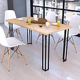 Опора для стола GoodsMetall в стиле Лофт 720х90мм Плант, фото 3