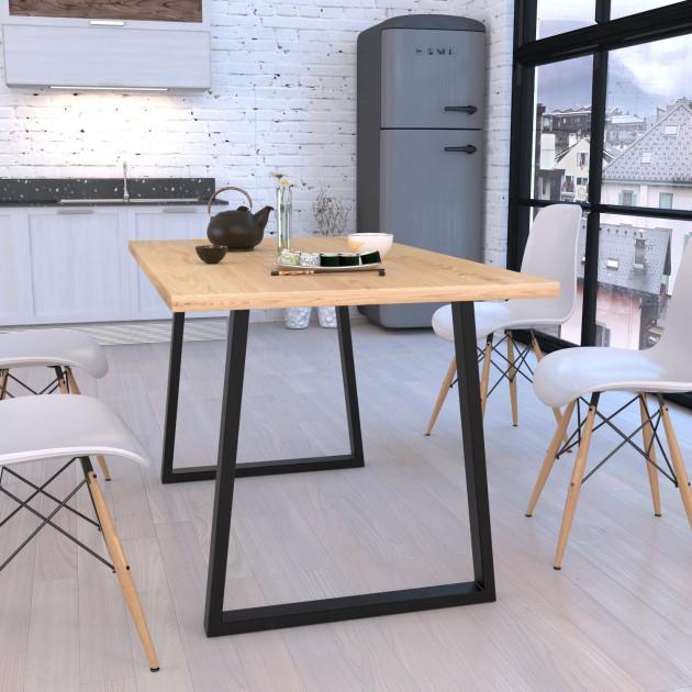 Стол обеденный GoodsMetall в стиле Лофт 1200х760х800мм Шанкар