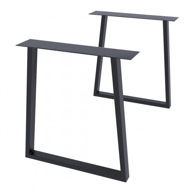 Опора для стола GoodsMetall в стиле Лофт 720х650мм Шанкар