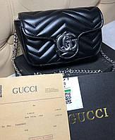 Женская сумочка клатч сумка Gucci мини