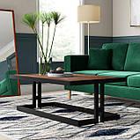 Журнальный, кофейный столик GoodsMetall в стиле Лофт 1300х800х450 ЖС145, фото 2